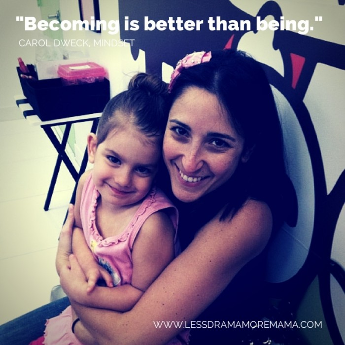 Becoming is better than being